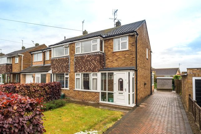Thumbnail Semi-detached house for sale in Heath Croft, York