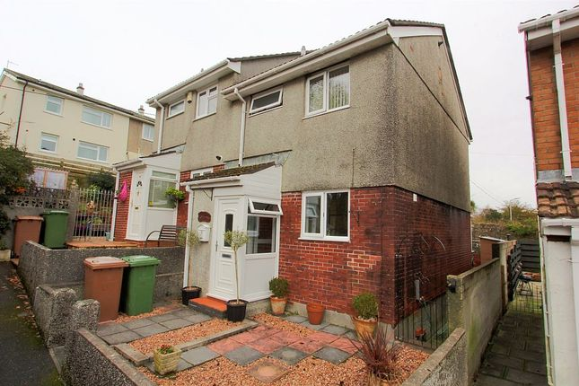 Thumbnail Semi-detached house for sale in Stott Close, Plymouth, Plymouth, Devon
