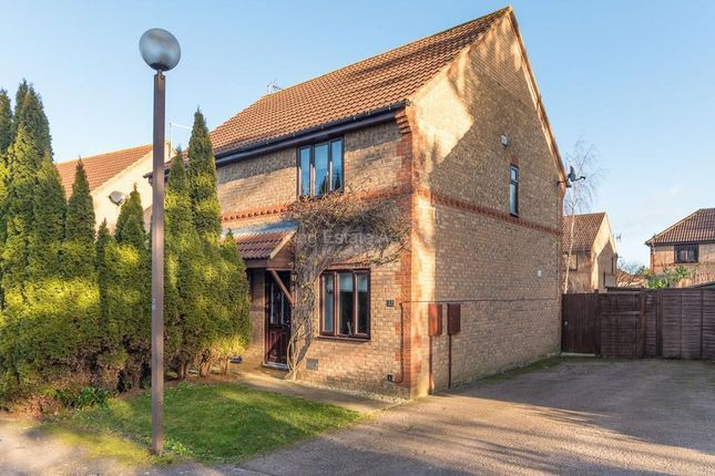 Thumbnail Semi-detached house for sale in Bernstein Close, Browns Wood, Milton Keynes, Buckinghamshire