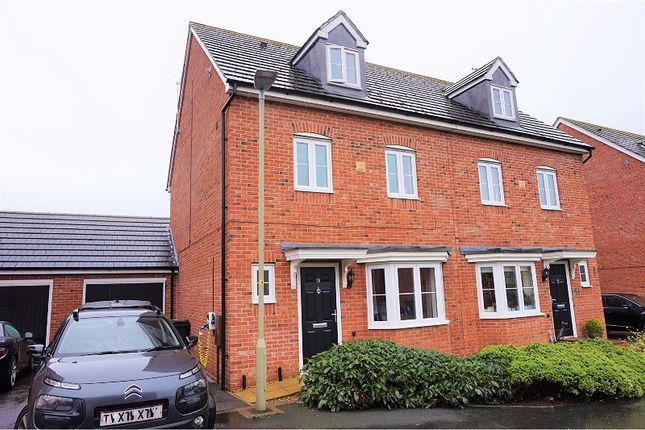 Thumbnail Semi-detached house for sale in Meredith Way Tuffley, Gloucester