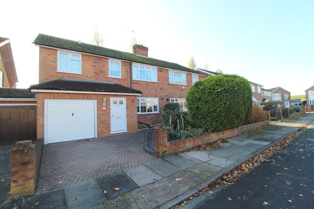 Thumbnail Semi-detached house for sale in Trinity Close, Stanwell, Staines