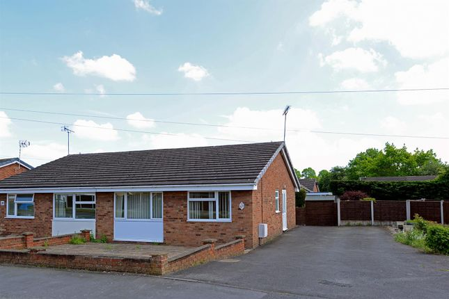 Thumbnail Bungalow for sale in Newfield Drive, Shrewsbury