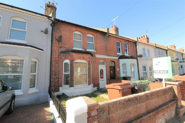 Thumbnail Terraced house for sale in Windsor Road, Bexhill On Sea, East Sussex