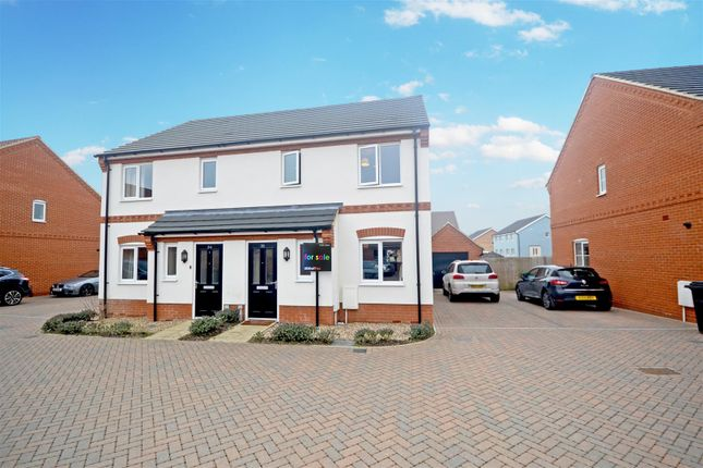 Thumbnail Semi-detached house for sale in Cringleford, Norwich
