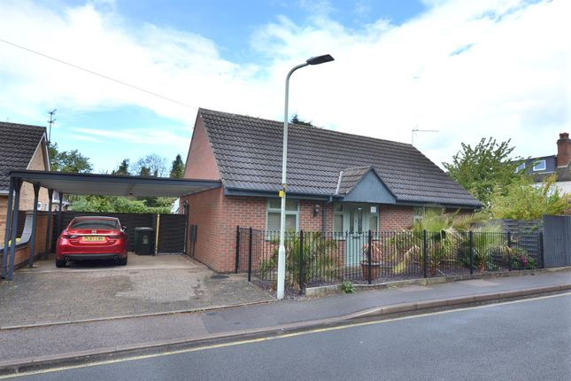 Thumbnail 2 bed detached bungalow to rent in Radmoor Road, Loughborough, Leicestershire