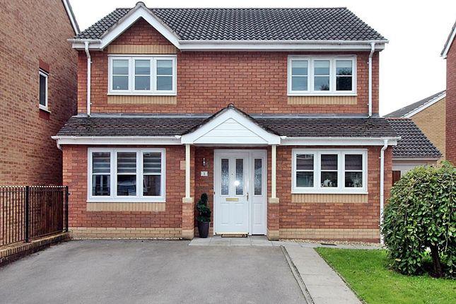 Thumbnail Detached house for sale in Meadow Drive, Tyla Garw, Pontyclun, Rhondda, Cynon, Taff.