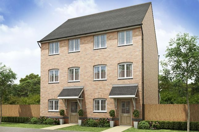 "Thumbnail Semi-detached house for sale in ""Broughton"" at Hollygate Lane, Cotgrave, Nottingham"