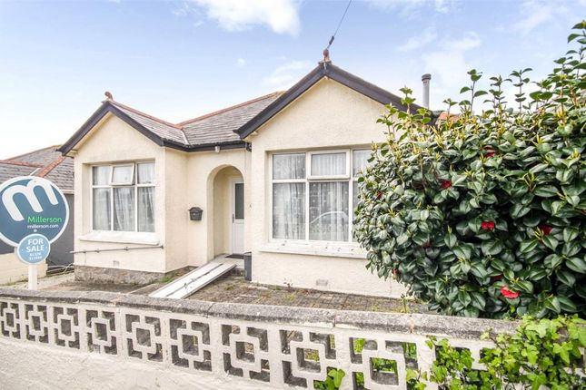 Thumbnail Detached bungalow for sale in Kimberley Park Road, Falmouth, Cornwall