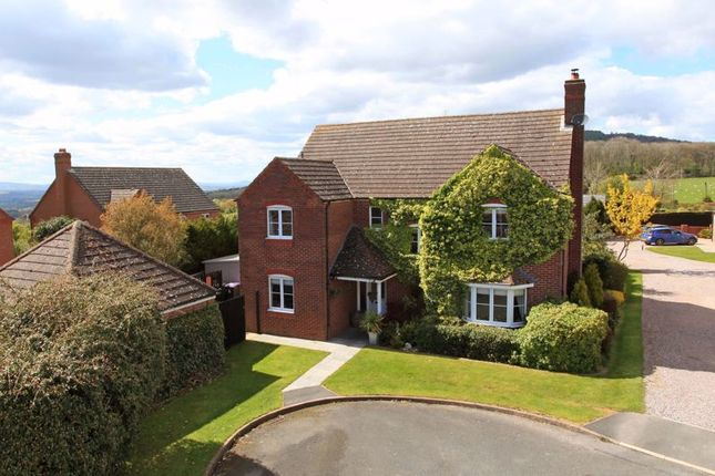 Thumbnail Detached house for sale in Crofters View, Little Wenlock, Telford