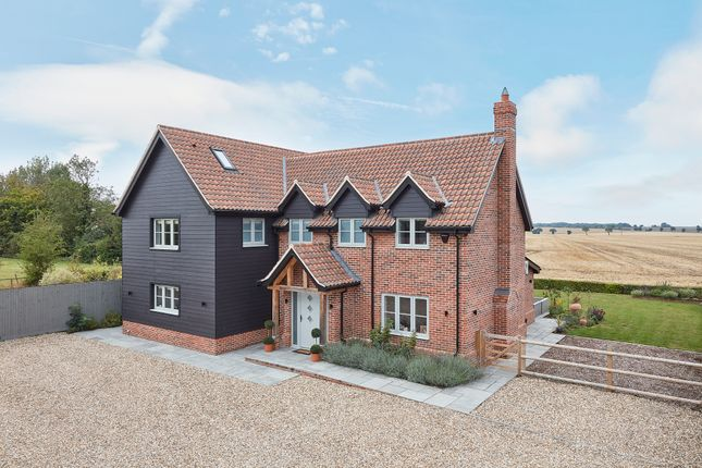 Thumbnail Detached house for sale in Elmswell, Bury St Edmunds, Sufolk