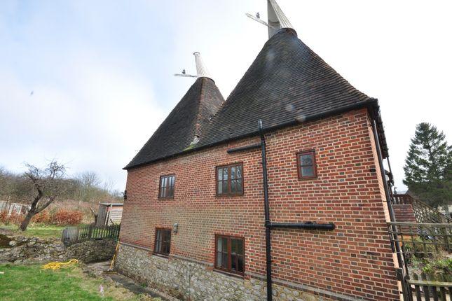 Thumbnail Barn conversion to rent in Half Yoke, Farleigh Lane, Maidstone