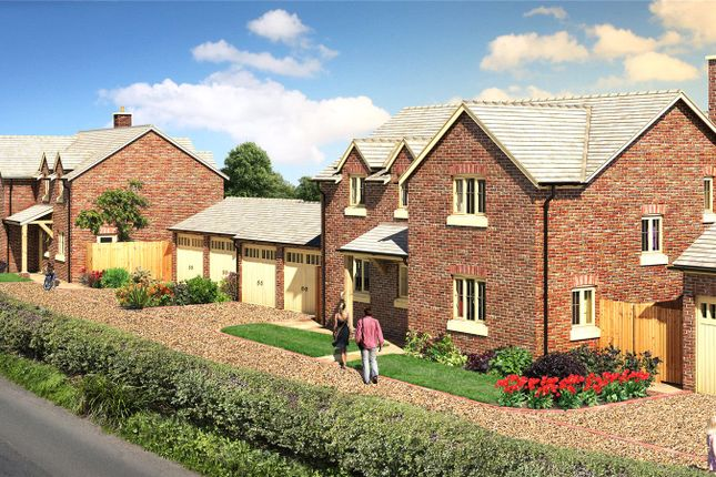 Thumbnail Detached house for sale in Plot 3, Chelwood View (Hafren View), Crew Green, Shrewsbury, Powys