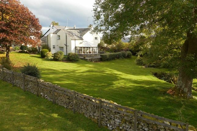 Thumbnail Detached house for sale in Rusland, Nr Ulverston, Cumbria