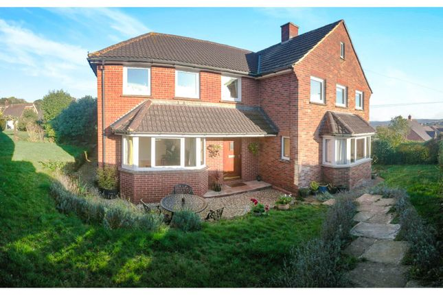 Thumbnail Detached house for sale in Okefield Avenue, Crediton