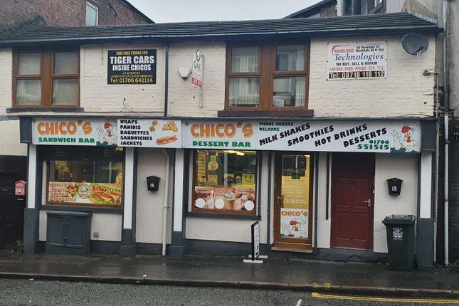 Thumbnail Restaurant/cafe for sale in Fleece Street, Rochdale