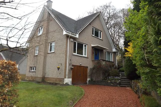 Thumbnail Detached house to rent in Greenwood Drive, Bearsden, Glasgow