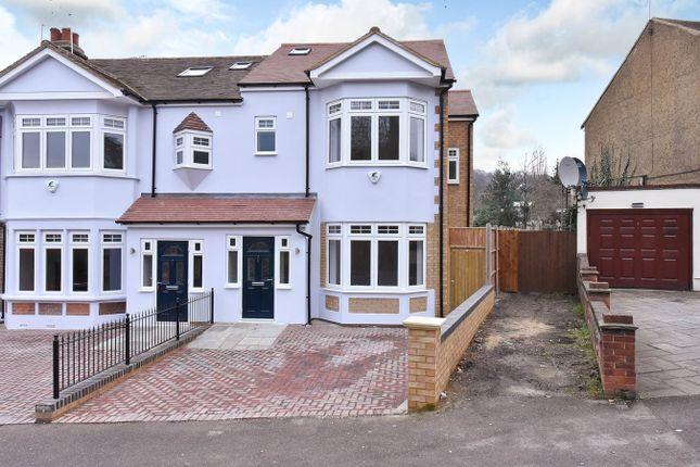 Thumbnail End terrace house for sale in Kings Head Hill, London