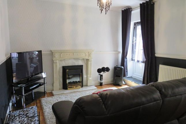 Living Room of Francis Street, Bargoed, Mid Glamorgan CF81