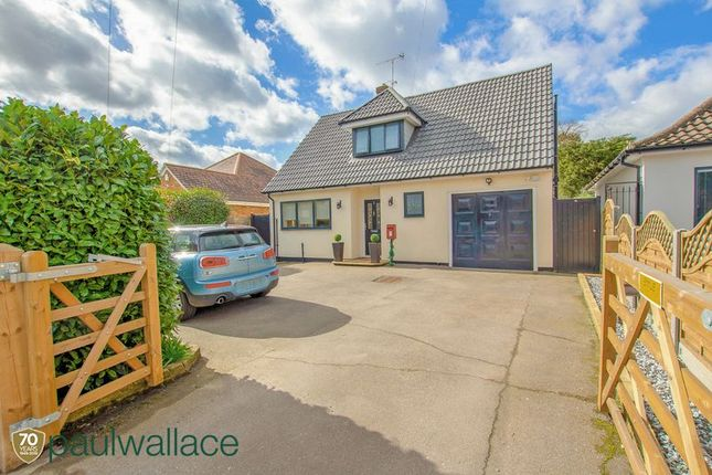 Thumbnail Detached bungalow for sale in North Street, Nazeing, Waltham Abbey