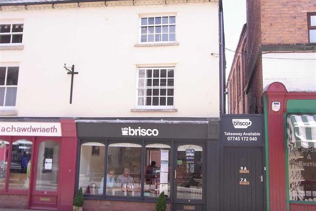 Thumbnail Maisonette to rent in 9A, Market Street, Newtown, Powys