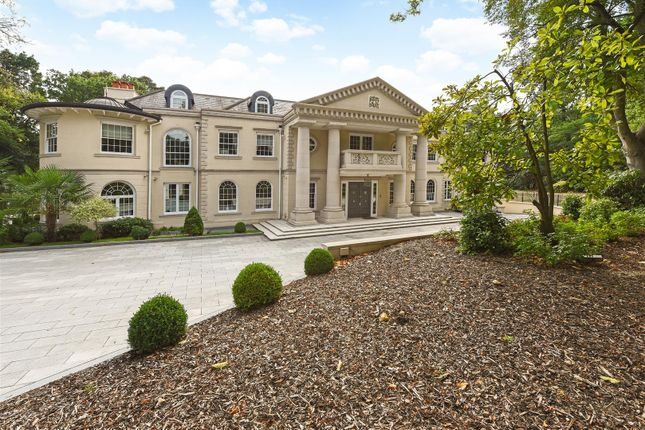 Thumbnail Detached house to rent in Christchurch Road, Wentworth, Virginia Water