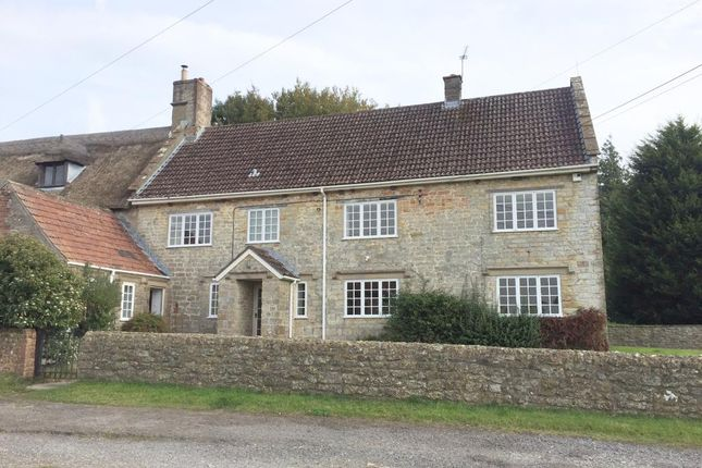 Thumbnail End terrace house to rent in Mapperton, Beaminster