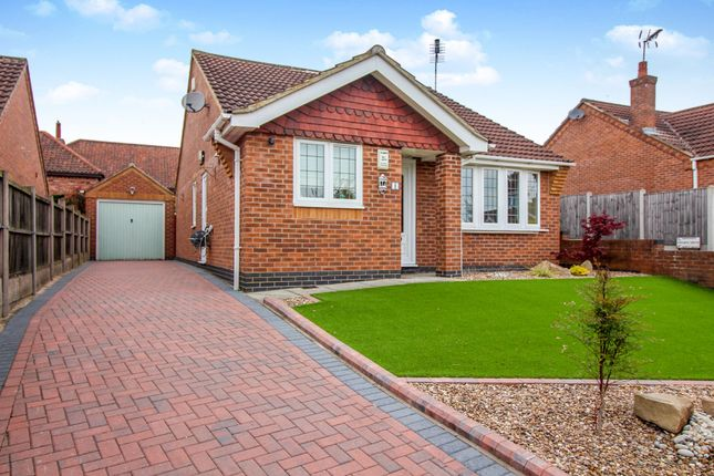 Thumbnail Detached bungalow for sale in Keane Close, Blidworth, Mansfield