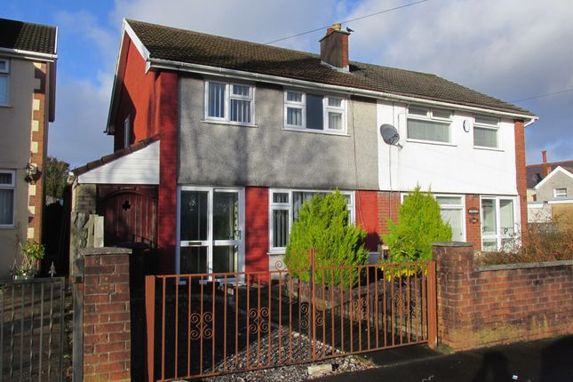 Thumbnail Semi-detached house for sale in Hillside, Aberdare