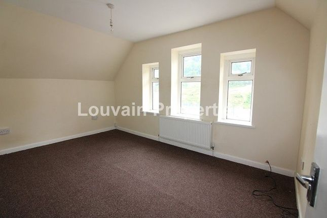 Thumbnail Flat for sale in Marine Street, Cwm, Ebbw Vale NP23. Top Flat.