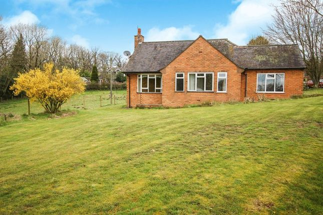 Thumbnail Detached bungalow for sale in Cheddleton Heath Road, Cheddleton, Staffordshire