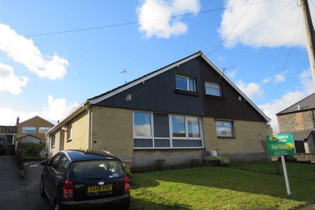 Thumbnail Semi-detached bungalow for sale in Heol Y Ffynnon, Efail Isaf, Pontypridd