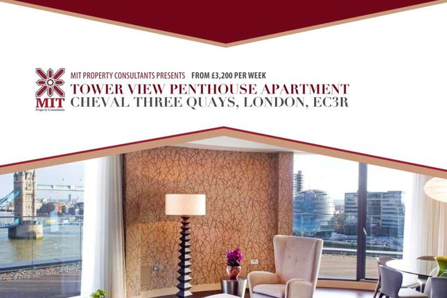 Thumbnail Penthouse to rent in Lower Thames Street, London