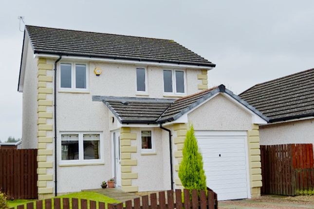 Thumbnail Detached house to rent in Meadow Court, Dunipace, Falkirk
