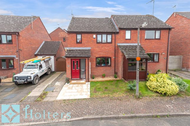2 bed semi-detached house for sale in Henley Orchards, Ludlow SY8