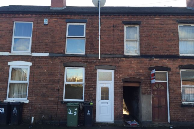 Thumbnail Terraced house to rent in Checketts Street, Walsall, West Midlands