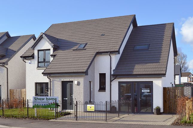 Thumbnail Detached house for sale in Paragon Drive, Off Hamilton Road, Motherwell