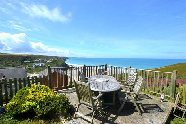 Thumbnail Detached bungalow for sale in Eastcliff, Porthtowan, Truro