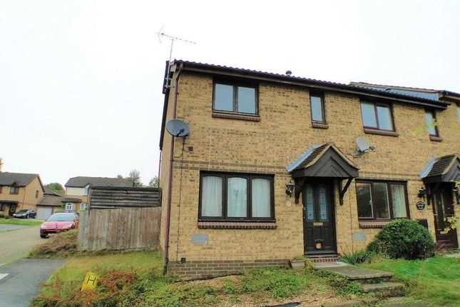 Thumbnail End terrace house for sale in Westwood Close, Great Holm, Milton Keynes