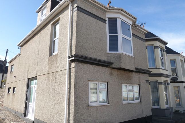 Thumbnail Maisonette for sale in Florence Place, Plymouth