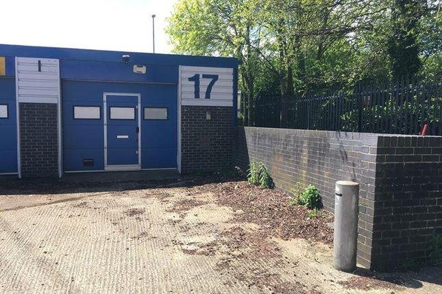 Thumbnail Warehouse to let in Unit 17 Mitchell Close, Segensworth, Fareham, Hampshire