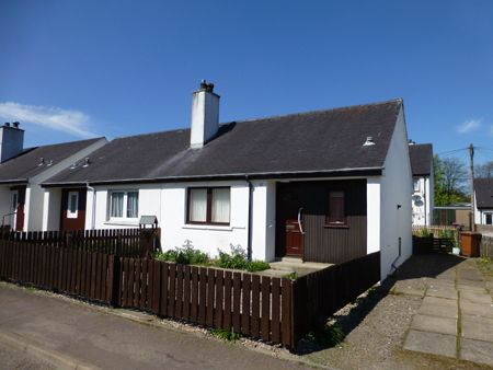 Thumbnail Semi-detached bungalow for sale in Spey Street, Rothes