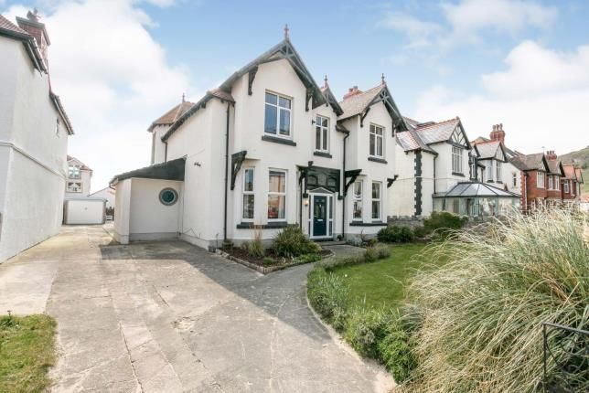 Thumbnail Detached house for sale in Great Ormes Road, Llandudno, Conwy, North Wales