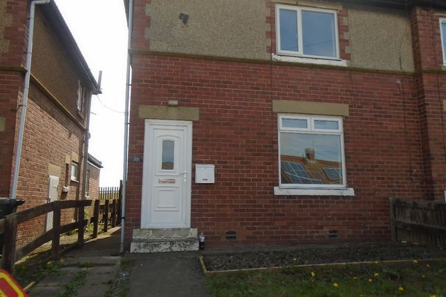 Thumbnail Semi-detached house to rent in Green Crescent, Dudley, Cramlington