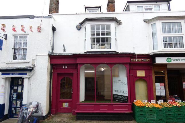 Thumbnail Retail premises for sale in High Street, Hythe, Southampton