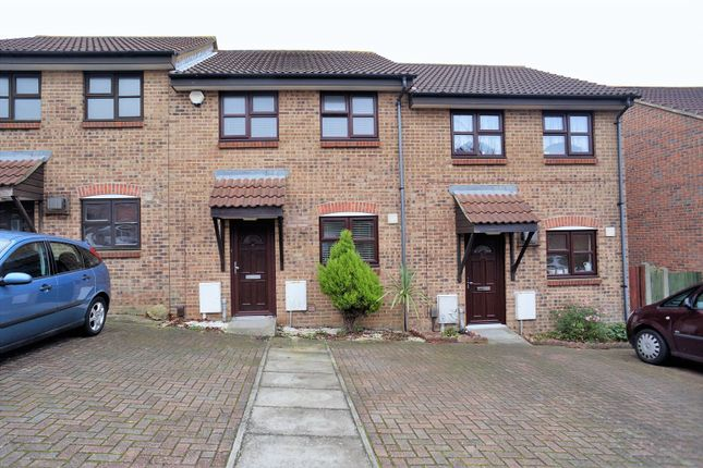 Thumbnail Terraced house to rent in Hancock Close, Rochester, Kent