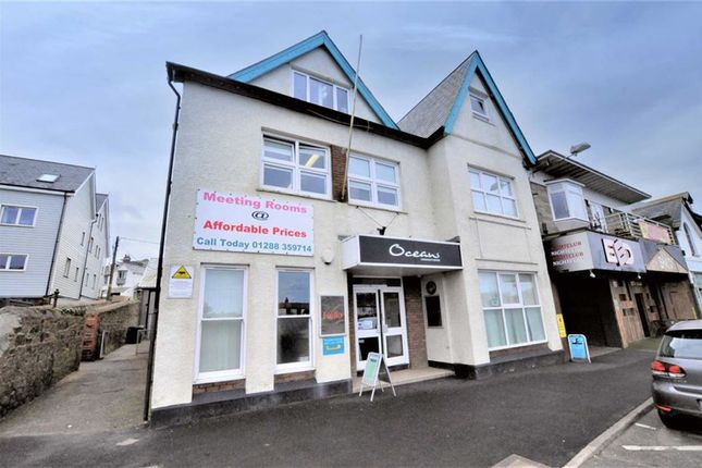 Commercial property to let in The Strand, Bude, Cornwall