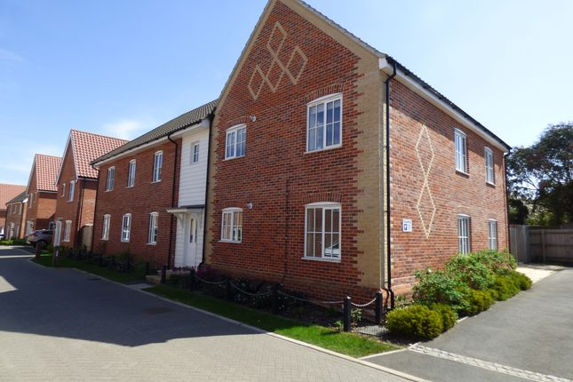 Thumbnail Flat to rent in Foundry Close, Glemsford, Sudbury