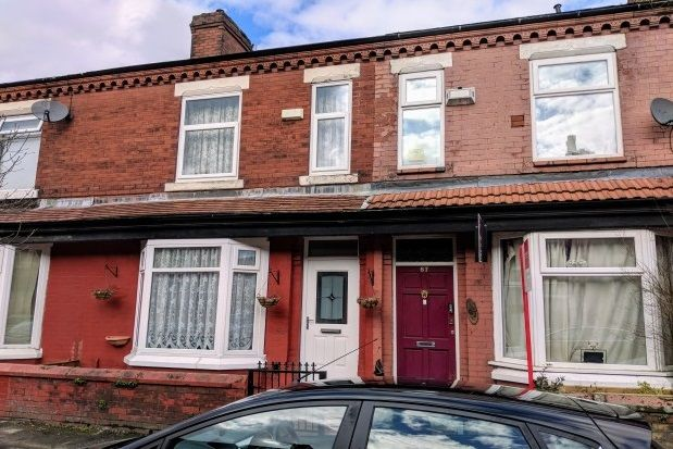 Thumbnail Terraced house to rent in Haydn Avenue, Rusholme