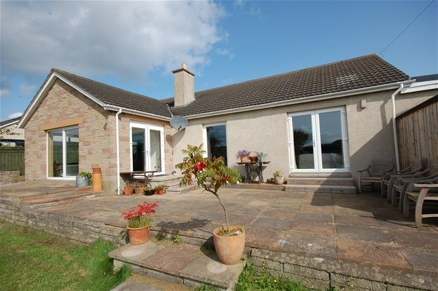 Thumbnail Detached bungalow for sale in Lein Road, Kingston, Fochabers