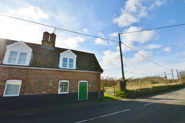 Thumbnail End terrace house to rent in Little Street, Yoxford, Saxmundham